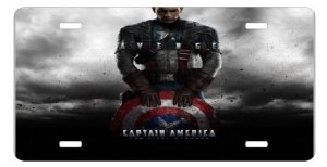 captain america license plate 2