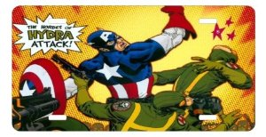 captain america license plate 4