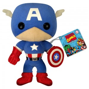 captain america plush