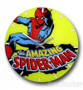 Spiderman Wall Clock Superhero Collection
