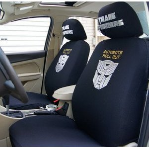 transformer car seat cover black
