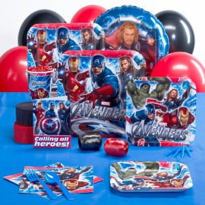 avengers birtdahy party pack