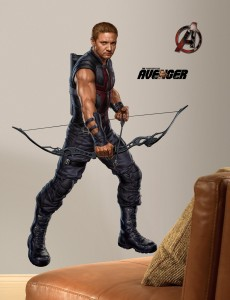 avengers hawkeye wall decal