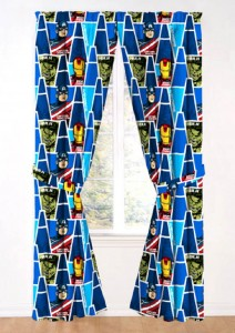 avengers window drape