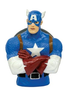 captain america bust bank