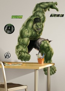 hulk incredible wall decal
