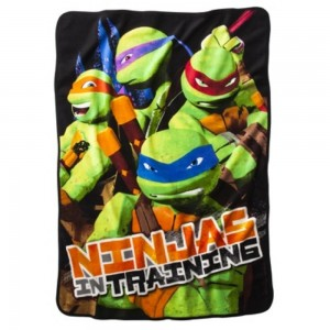 ninja turtle fleece blanket