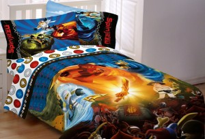 ninjago sheet set