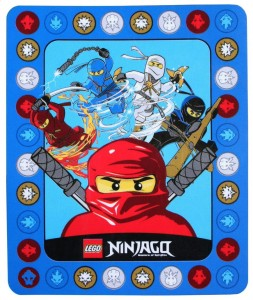 ninjago throw