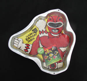power rangers cake pan