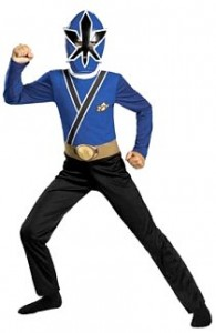 power rangers samurai blue costume kids