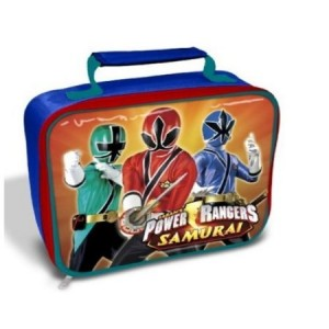 power rangers samurai lunch bag