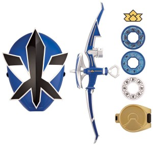 power rangers training set blue
