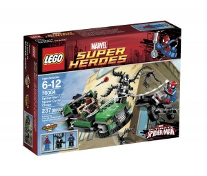spiderman lefo spider-cycle chase