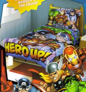 Super Hero Squad Toddler Bedding Superhero Collection