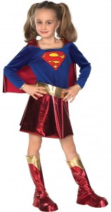 supergirl costume red