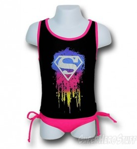 supergirl swimwear