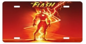 the flash license plate
