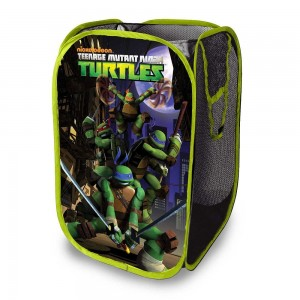Teenage mutant ninja turtles pop up hamper superhero collection - Superhero laundry hamper ...