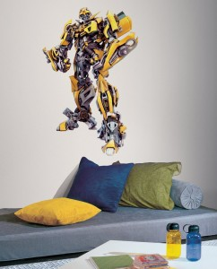 transformers bumble bee wall decal