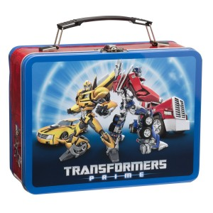 transformers lunch metal box