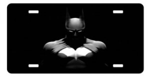 batman car license plate 2