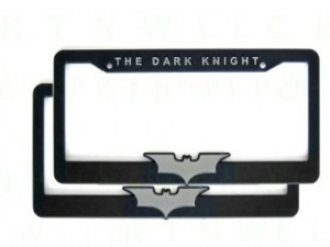 batman dark knight license plate
