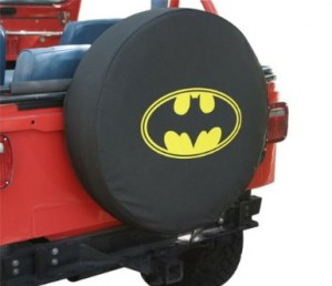 batman tire cover