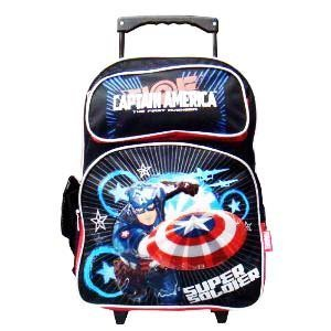 captain ameria rolling backpack