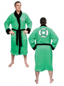 green lantern bathrobe