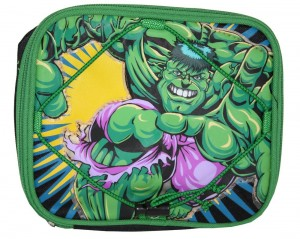 incredible hulk lunch bag