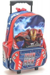 iron man rolling backpack