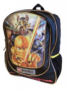 ninjago backpack golden
