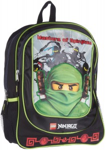 ninjago backpack green