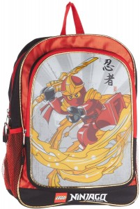 ninjago backpack red