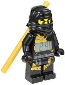ninjago cole black alarm clock