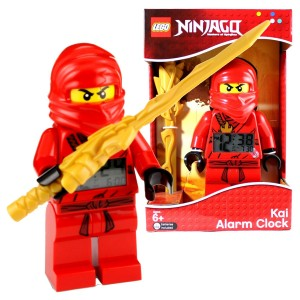 ninjago kai red alarm clock
