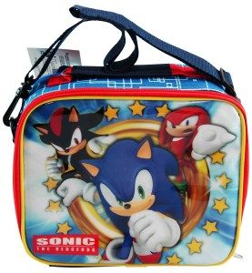 sonic hedgehog lunch bag
