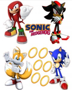 sonic the hedgehog wall decal superhero collection