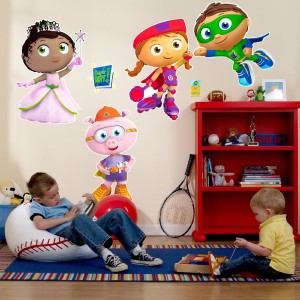 super why wall decal