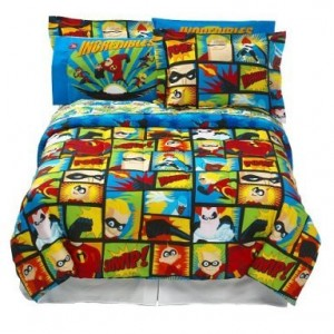 The Incredibles Bedding Superhero Collection