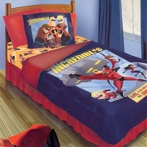 the incredibles bedding set