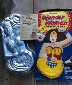 Wonder Woman Cake Pan Superhero Collection