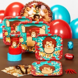 wreck-it ralph party pack