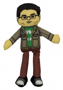 big bnag theory leonard plush