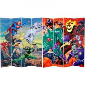 justice league room divider