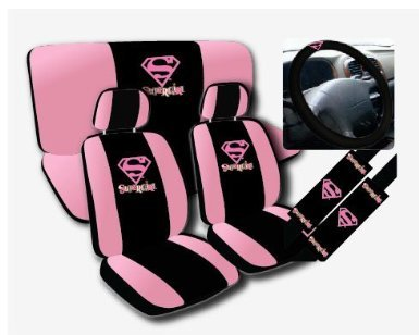 supergirl car accessories superhero collection. Black Bedroom Furniture Sets. Home Design Ideas