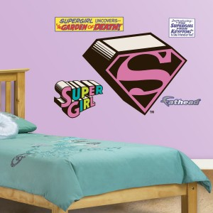 supergirl wall decal fathead