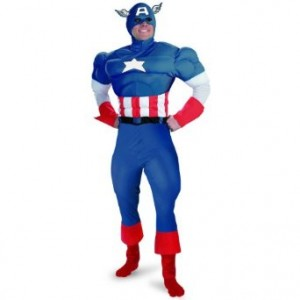 captain america costume adult