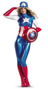 captain america costume women